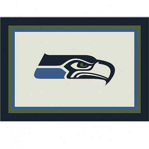 Mliliken Seattle Seahawks 5 X 8 Seattle Seahawks Spirit Area Rugs