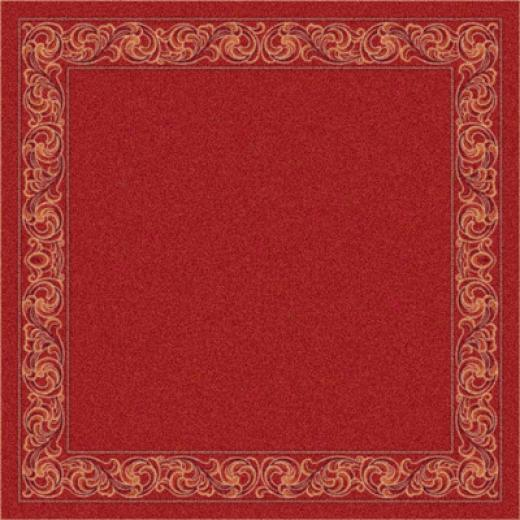 Milliken Sonata 8 X 11 Indian Red Area Rugs