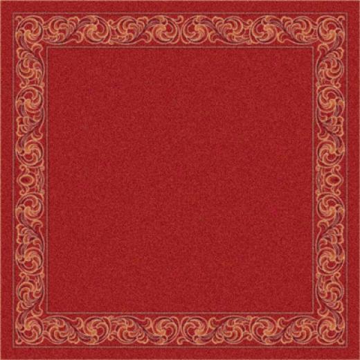 Milliken Sonata 8 X 11 Indian Red Area Rugs