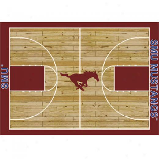 Milliken Southern Methodiet Mustangs 11 X 13 Southern Methodist Mustangs Area Rugs