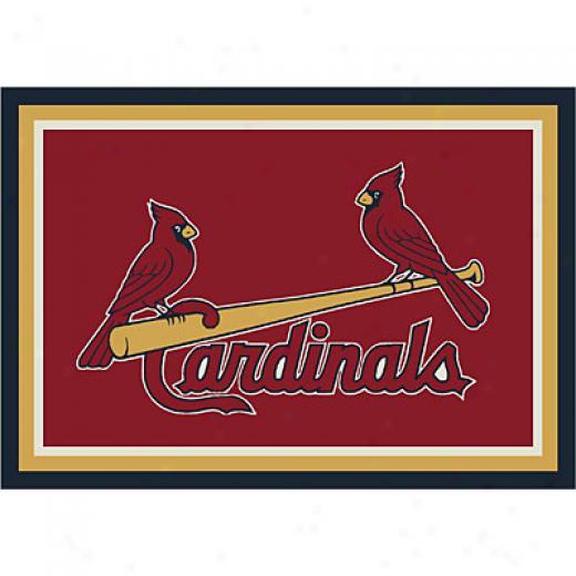 Milliken St. Louis Cardinals 11 X 13 St Louis Cardinals Spirit Area Rugs
