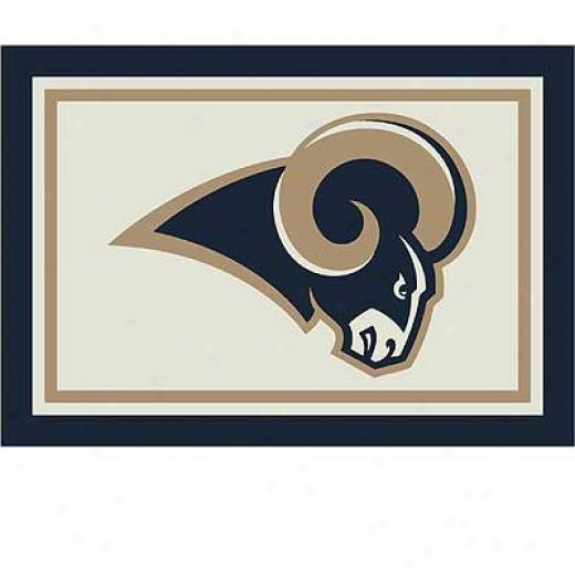 Milliken St Louis Rams 5 X 8 St Louis Rams Spirit Area Rugs