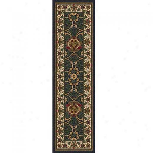 Milliken Sumero 2 X 23 Runner Cream Ebony Area Rugs