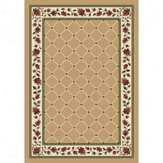 Milliken Symphony 2 X 8 Runner Wheat Area Rugs