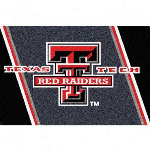Milliken Texas eTch 4 X 5 Texas Tech Area Rugs