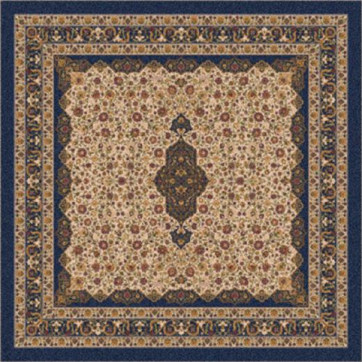 Milliken Tiraaz 8 Octagon Phantom Blue Area Rugs
