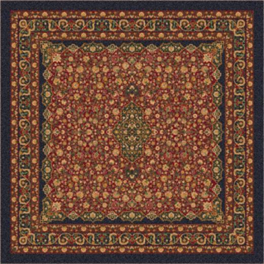 Milliken Tiraz 8 X 8 Square Ebony Area Rugs