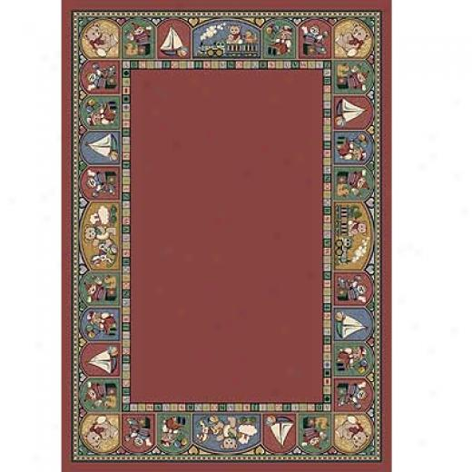 Milliken Toy Parade 5 X 8 Rose Quartz Area Rugs