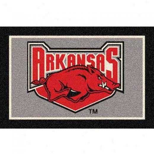 Milliken Univ Of Arkansas Fayetteville 3 X 4 Unkv Arkansas Fayett Area Rugs