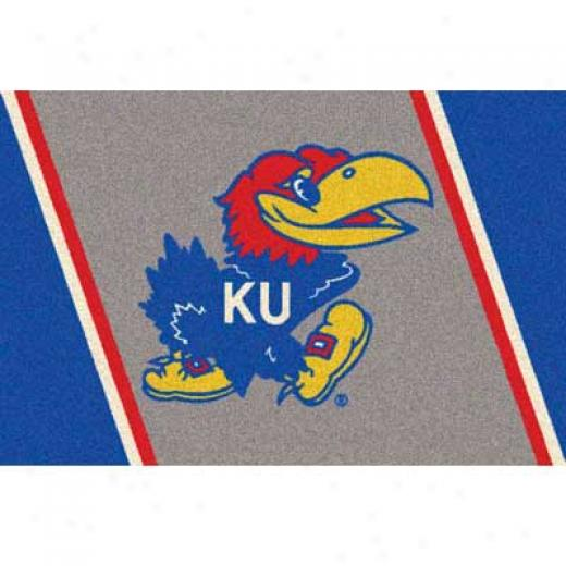 Milliken University Of Kansas 4 X 5 University Kansas Yard Rugs