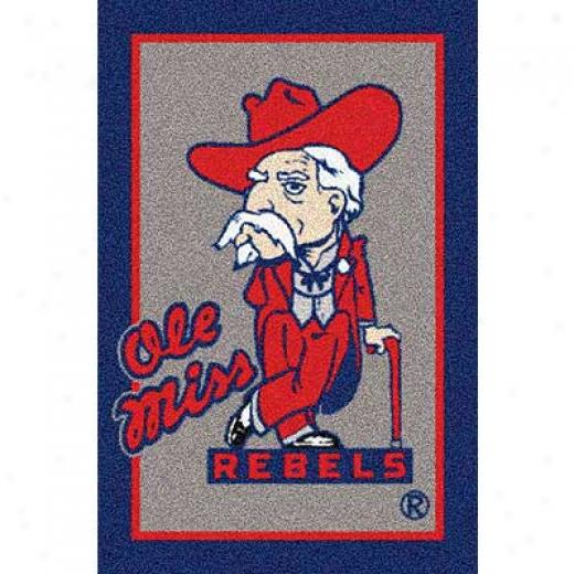Milliken University Of Mississippi 3 X 4 U Mississippi Superficial contents Rugs
