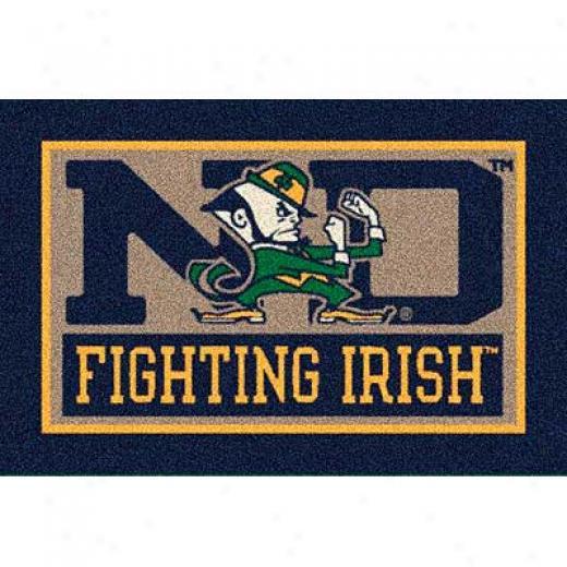 Milliken University Of Notre Dame 5 X 8 U Notre Dame Area Rugs