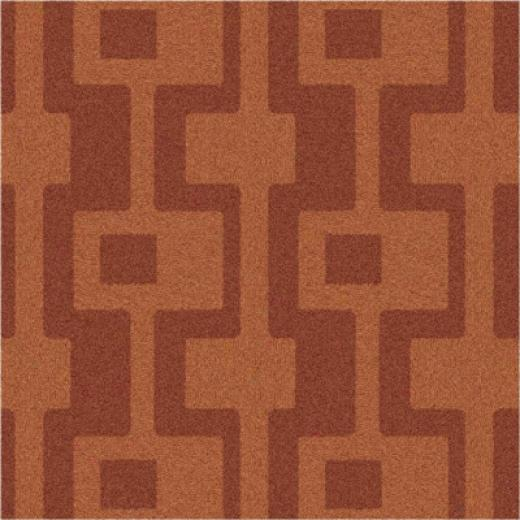 Milliken Uptown 3 X 4 Fall Orange Area Rugs