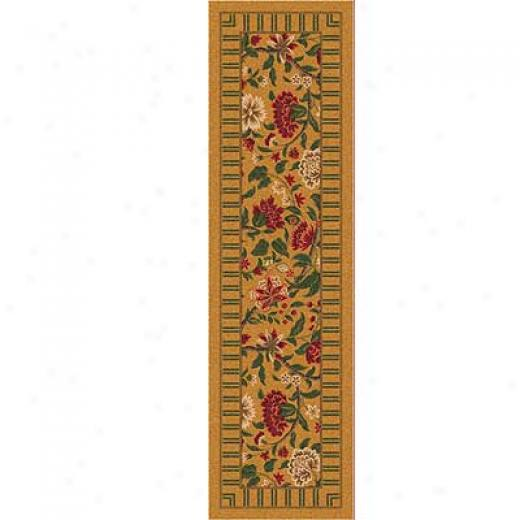 Milliken Vachell 2 X 12 Runner Indian Red Area Rugs