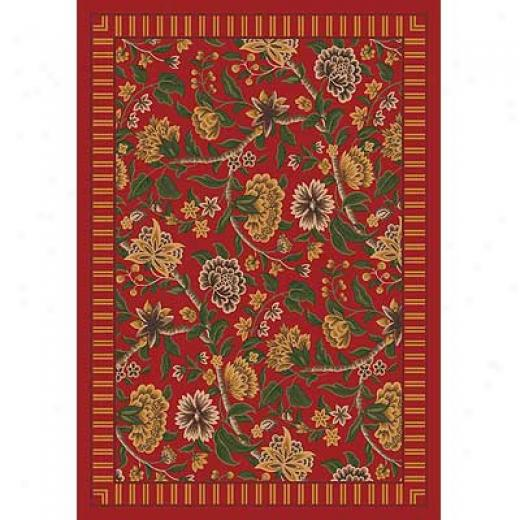 Milliken Vacjell 3 X 4 Indian Red Area Rugs