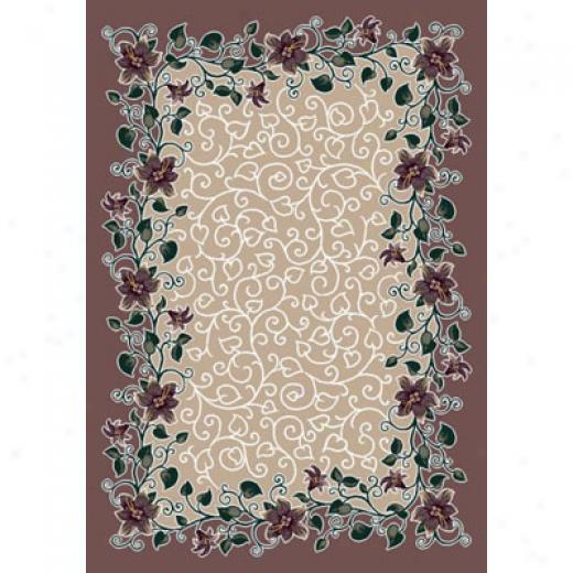 Milliken Valentine 8 X 8 Square Light Amethyst Area Rugs