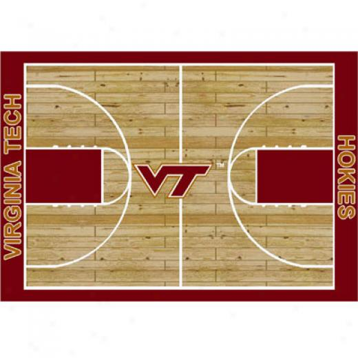 Milliken Vigrinia Tech Hokies 8 X 11 Virginia Tech Hokies Area Rugs