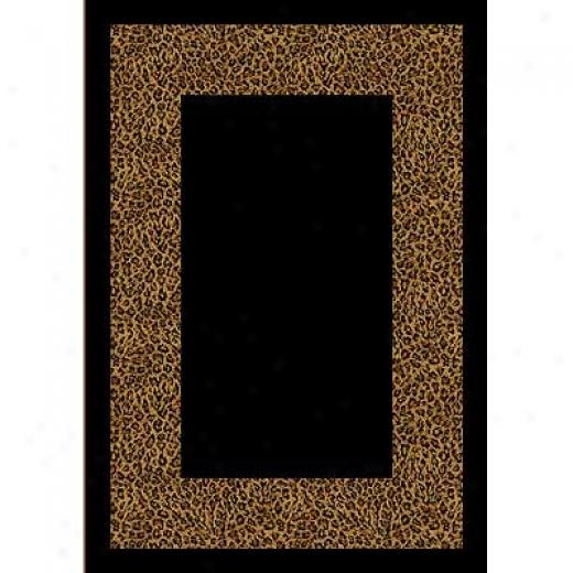 Milliken Wasabu 11 X 13 Golden Leopard Area Rugs