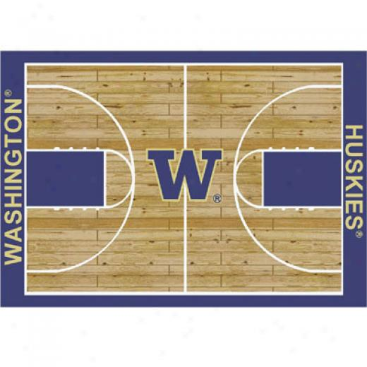 Milliken Washington Huskies 5 X 8 Washington Huskies Area Rugs