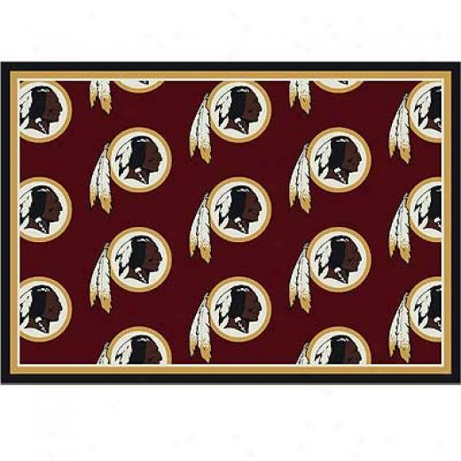 Mi1liken Washington Redskins 5 X 8 Washington Redskins Team Area Rugs