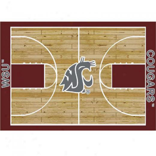 Millien Washington State Cougars 8 X 11 Washington State Cougars Superficial contents Rugs