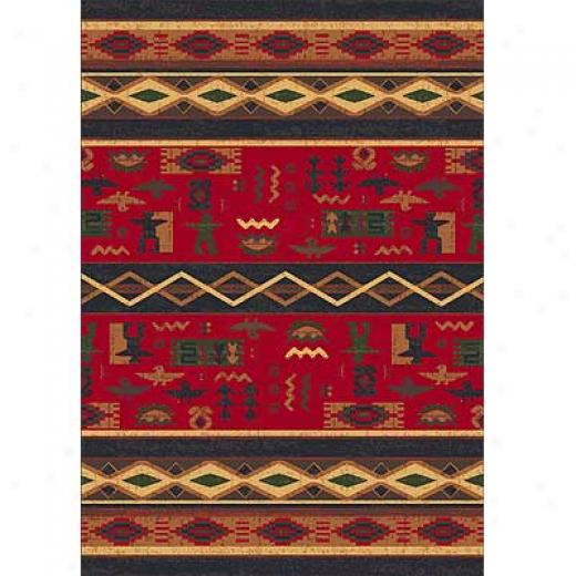 Milliken Wide Ruins 11 X 13 Ebony Area Rugs