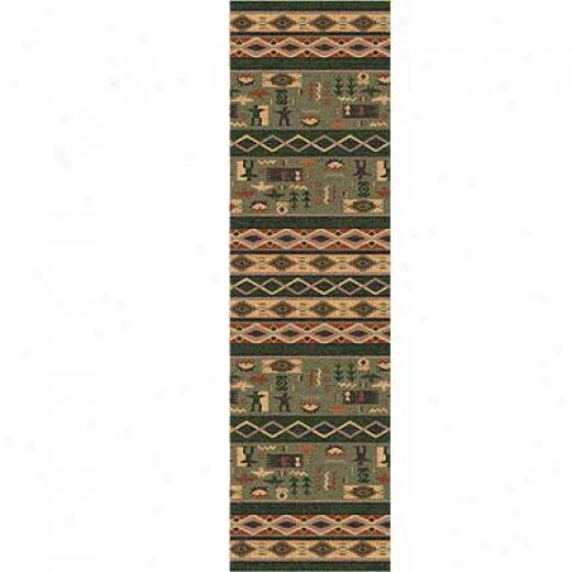 Milliken Wide Ruins 2 X 8 Runner Autumn Forest Area Rugs