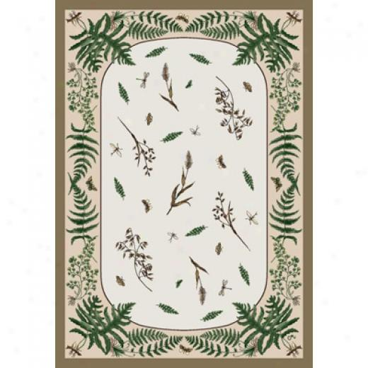 Milliken Woodland Fern 7484/280 11 X 13 Dull Gold Area Rugs