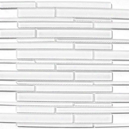 Mirage Glass Tiles Cane Series Super White Tile & Stone