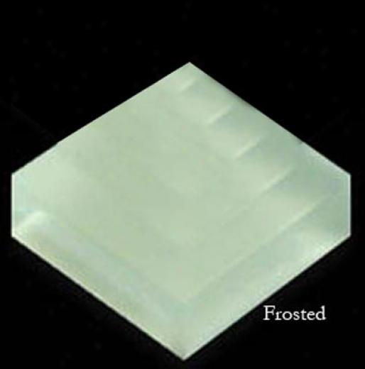 Mirage Tile Glass Mosaic Plain Color 1 X 1 Ice Green Frosted Tile & Stone