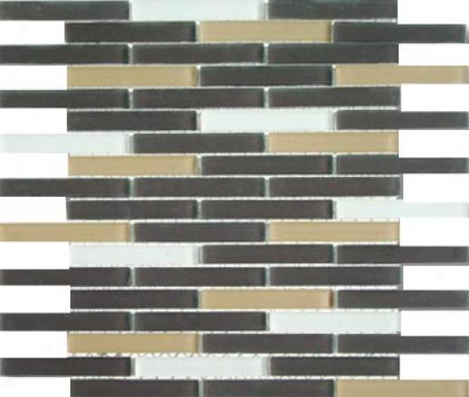 Mirage Tile Glass Mosaic Blends 5/8 X 4 Metropolis Tile & Stone