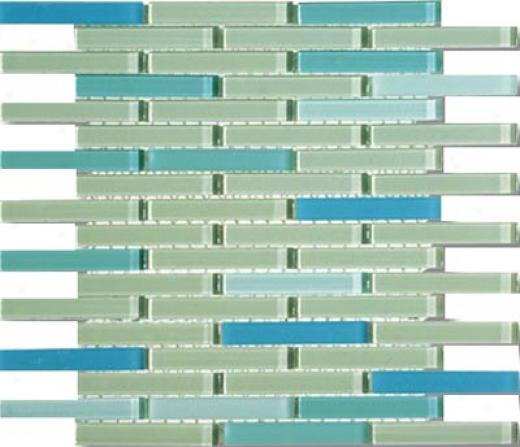 Mirage Tile Glass Mosaic Blsnds 5/8 X 4 Gradencity Tile & Stone