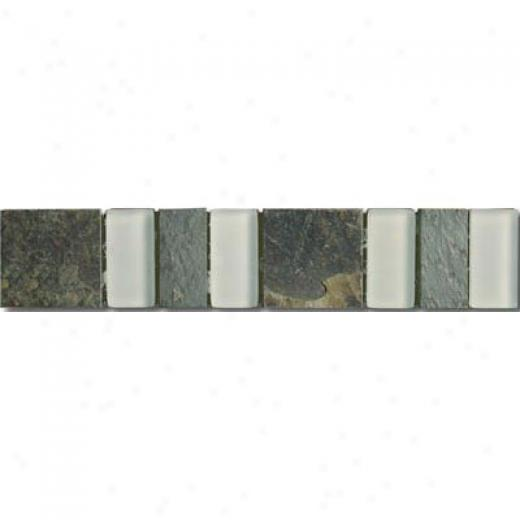 Mirage Tile Glass & Stone Border 2 X 10 Mgsb02 Tile & Stone