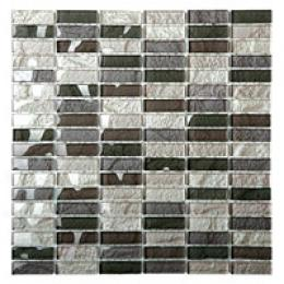 Mirage Tile Spefra Glass Mosaic 2 X 2 Violet Tile & Stone