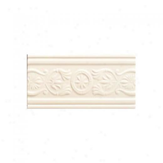 Mohawk Artistic Collection - Accent Statements - Ceramic Ivory Lace Castiemere Accent Strip Tile & Stone