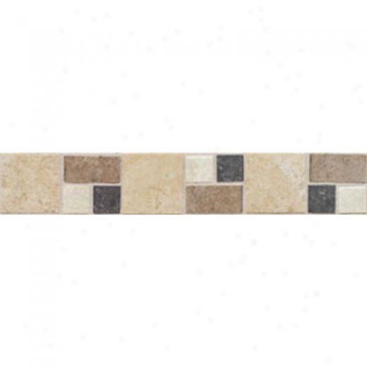 Mohawk Artistic Collection - Accent Statements - Ceramic Universal Trapini Decorative Border Tile & Stone