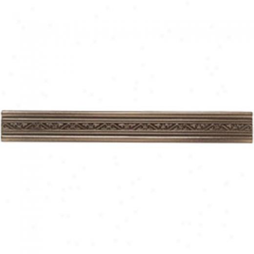 Mohawk Artistic Collection - Accent Statements - Metwlx Vintage Bronze Laurel Accent Strip Tile & Stone