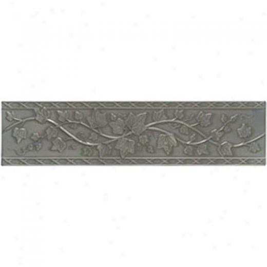 Mohawk Artistic Collection - Accent Statements - Metals Vintage Pewter Englisn Ivy Accent Strip Tile & Face with ~