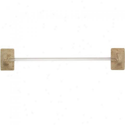 Mohawk Bath Accessories Travertine Towel Bar Tile & Stone