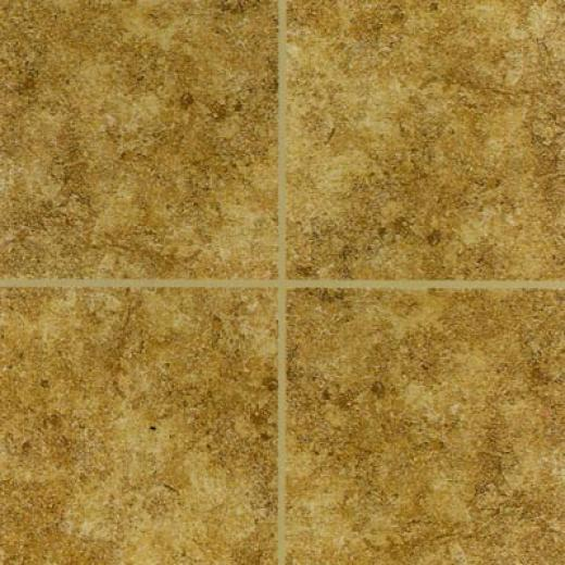 Mohawk Bella Rocca 12 X 12 Etruscan Gold Tile & Stone