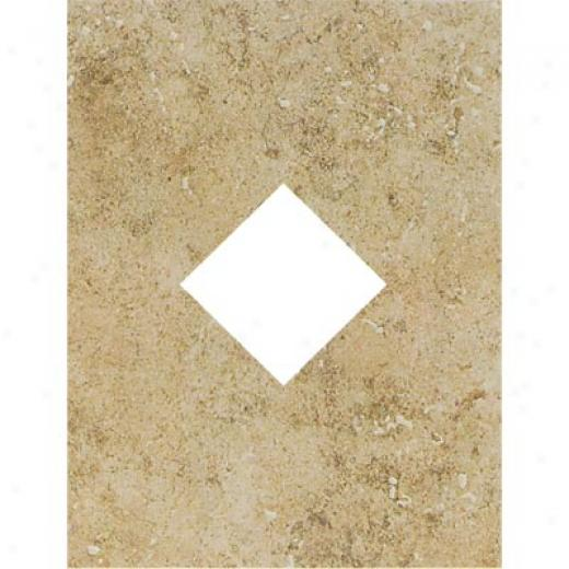 Mohawk Bella Rocca Diamond Cut-out Roman Beige Tile & Stone