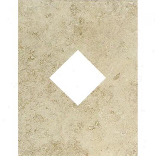 Mohawk Bella Rocca Diamond Cut-out Venetian White Tile & Stone
