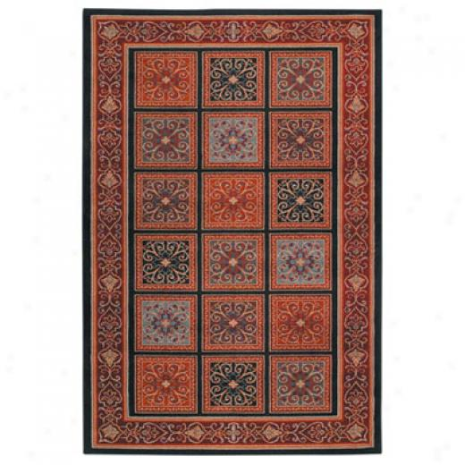 Mohawk Bella Rouge 8 X 11 Deep River Area Rugs