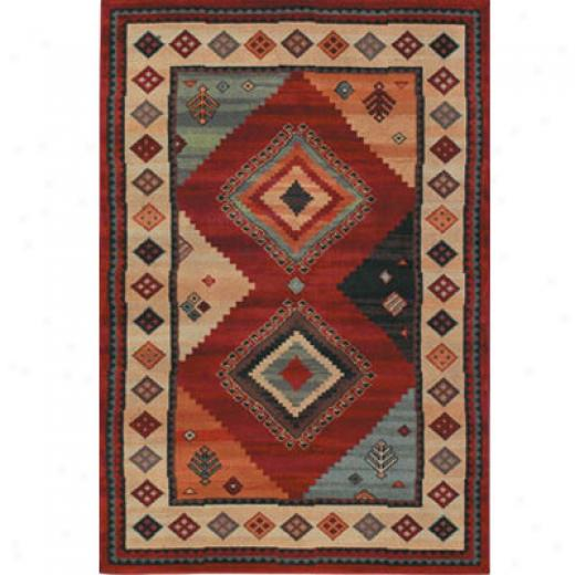 Mhawk Bella Rouge 8 X 11 Giroux Royalty Red Area Rugs
