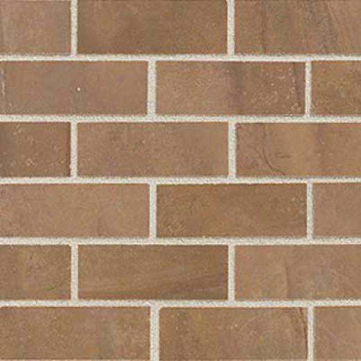 Mohawk Citiscape Mosaic Plaza Brown Tile & Stone