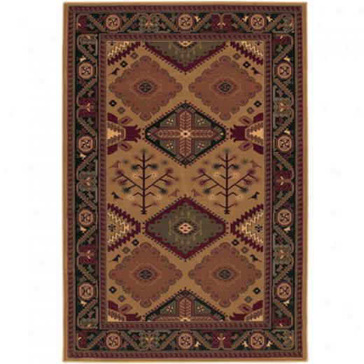 Mohawk Estate 8 X 11 Moroccan Brown Area Rugs
