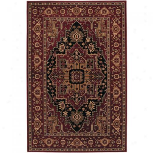 Mohawk Estate 8 X 11 Kingdom Red Area Rugs