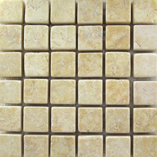 Mohawk Marblestone Mosaics Honed Giallo Tile & Stone
