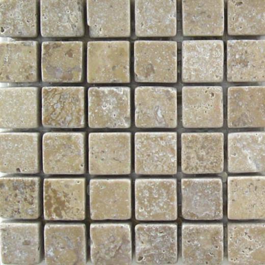 Mohawk Marblestone Mosaics Honed Noce Tile & Stone