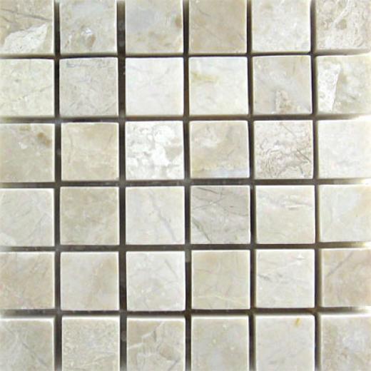 Mohawk Marblestone Mosaics Polished Botticino Tile & Stone